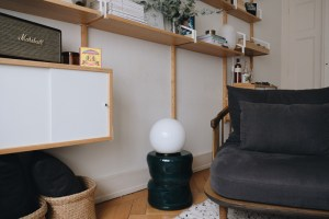 Ikea fado lamp with a twist