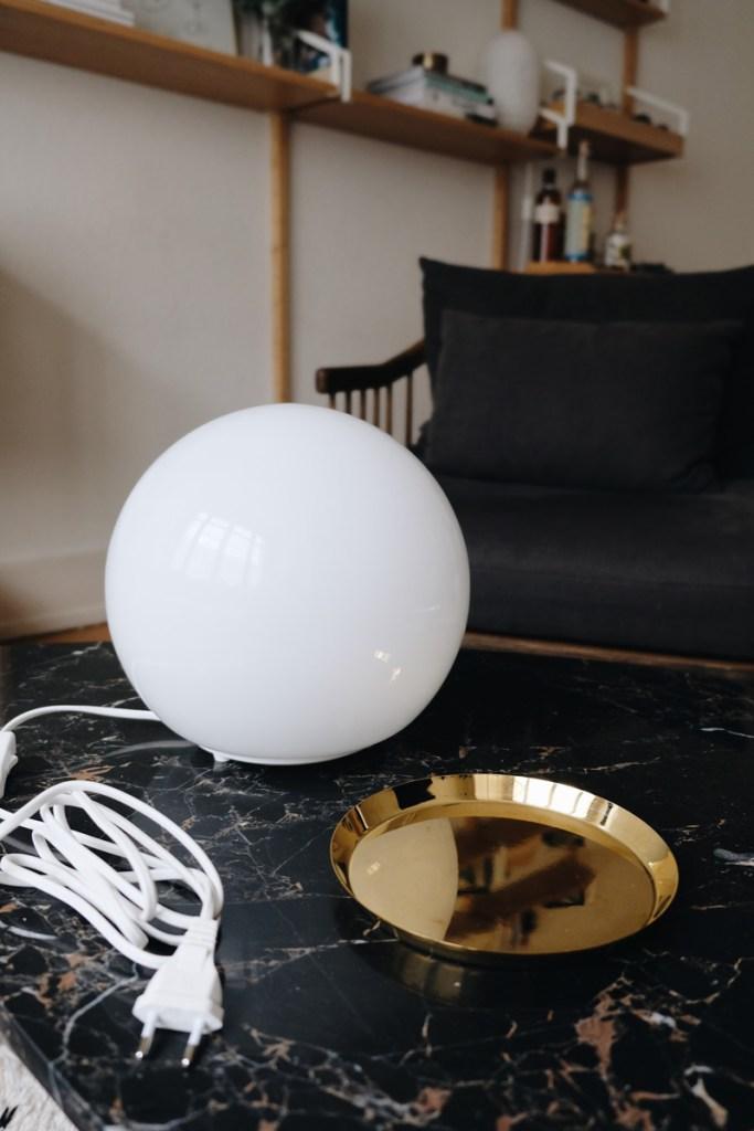 IKEA Fado Lamp Hay L saucer