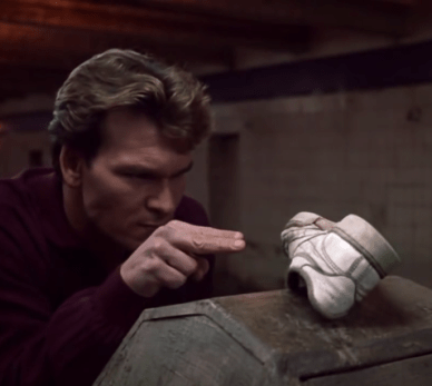 Ghost power control scene - Ghost, Patrick Swayze, negative review
