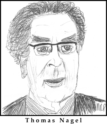 Thomas Nagel Sketch by M.R.P. - final outcome argument - absurdity - meaning