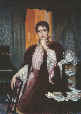 Anna Karenina by Henrich Matveevich Manizer - paradox of fiction - Colin Radford