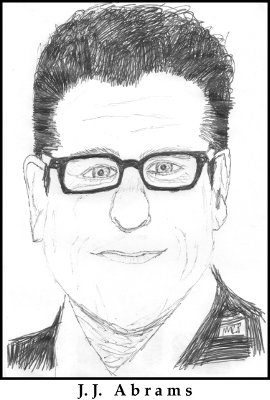 J.J. Abrams Sketch by M.R.P. - Star Wars Episode VII: The Force Awakens - pacing criticism