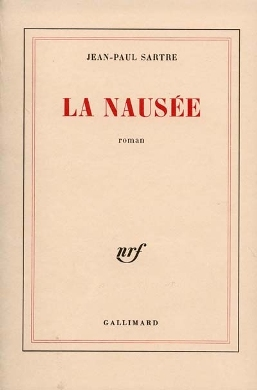Nausea book cover - Jean-Paul Sartre - philosophy, symbolism, literature