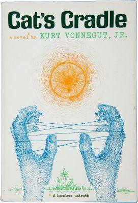 Cat's Cradle book cover - Kurt Vonnegut - arms race satire
