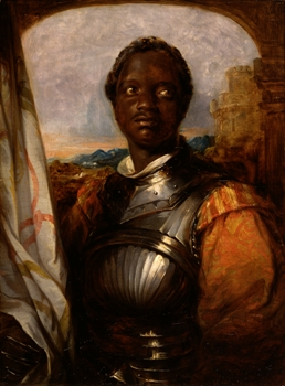 Ira Aldridge as Othello by William Mulready - William Shakespeare - Iago, race