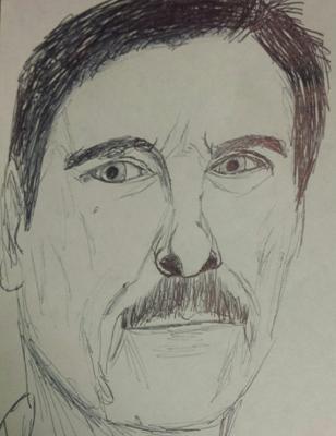 Andrei Tarkovsky Sketch by M.R.P. - Solaris - technology, emotion