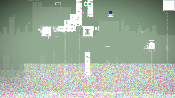 prog.1 screenshot with late-game level - Vector Arcade