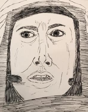 Amy Adams Sketch by M.R.P. - Arrival - Denis Villeneuve - analysis - Friedrich Nietzsche - eternal recurrence