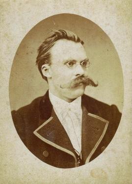 Photo of Friedrich Nietzsche in 1873 by Basel Hartmann - analysis - Denis Villeneuve - eternal recurrence