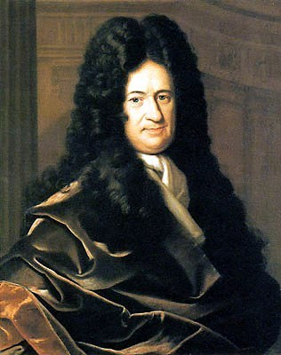 Portrait of Gottfried Leibniz by Christoph Bernhard Francke - philosophy of education - internet - The Gemsbok