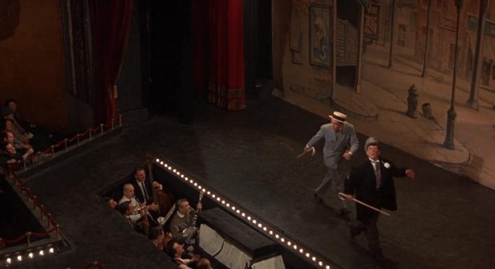 The Night They Raided Minsky's still with Raymond Paine and Chick Williams - William Friedkin, Ralph Rosenblum - burlesque, editing, tone