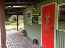 Upper Whirinaki Hut.