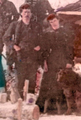Francis Cyprien Duval & Alice Hyde, possibly in Dawson, edited - cropped