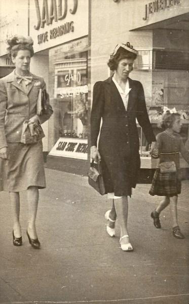 Vera & Sherry Hunter downtown