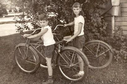 Uncle Frank and Grandma, May 1944