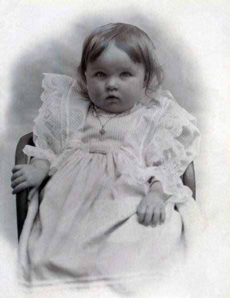 Blanche Octavia Huband, baby picture