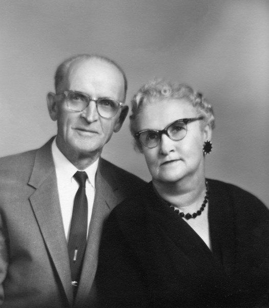 Claude and Blanche Ellis