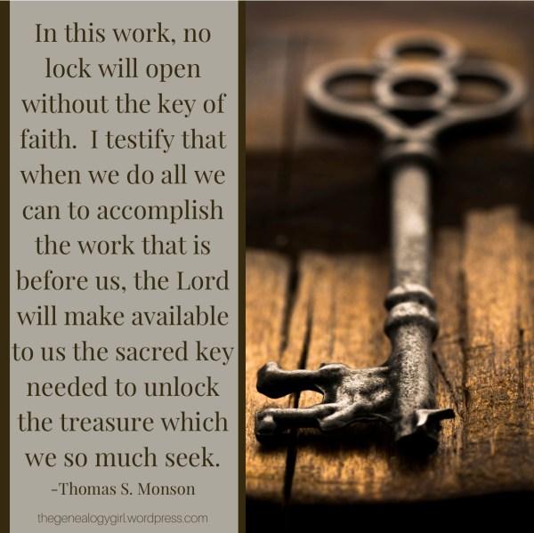 Thomas S Monson faith quote