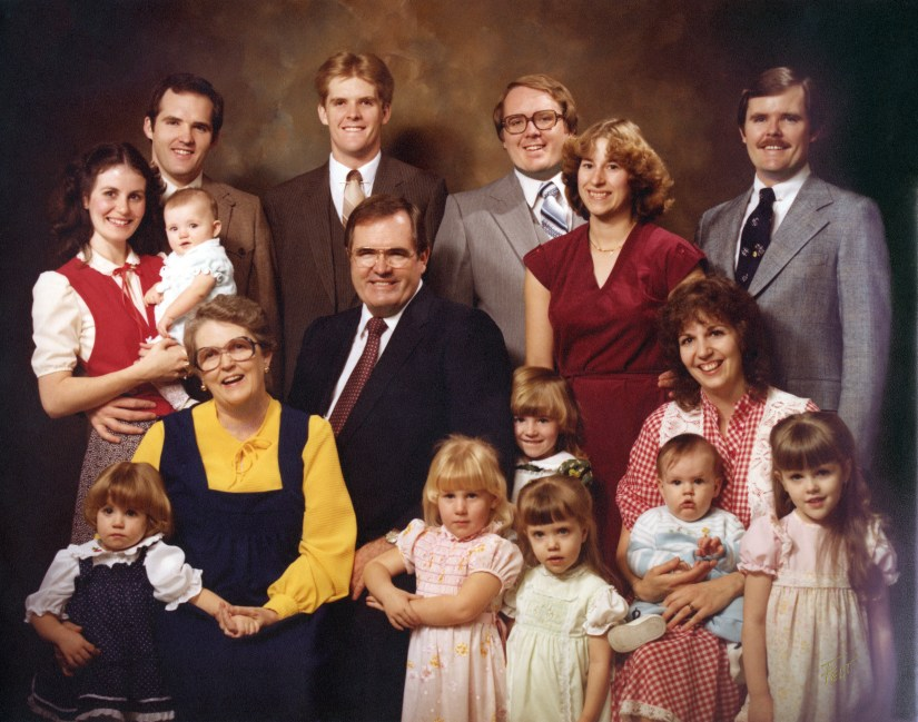 Peterson Family, 1981