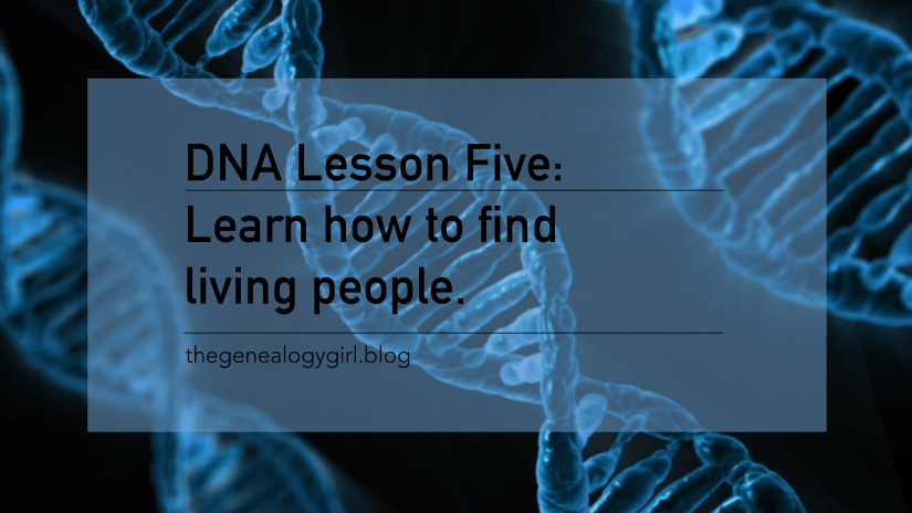 DNA Discovery, lesson five