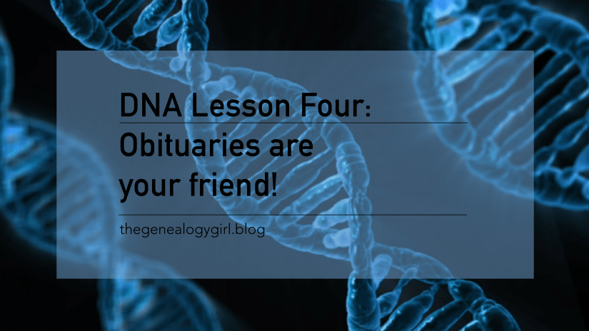DNA Discovery, lesson four