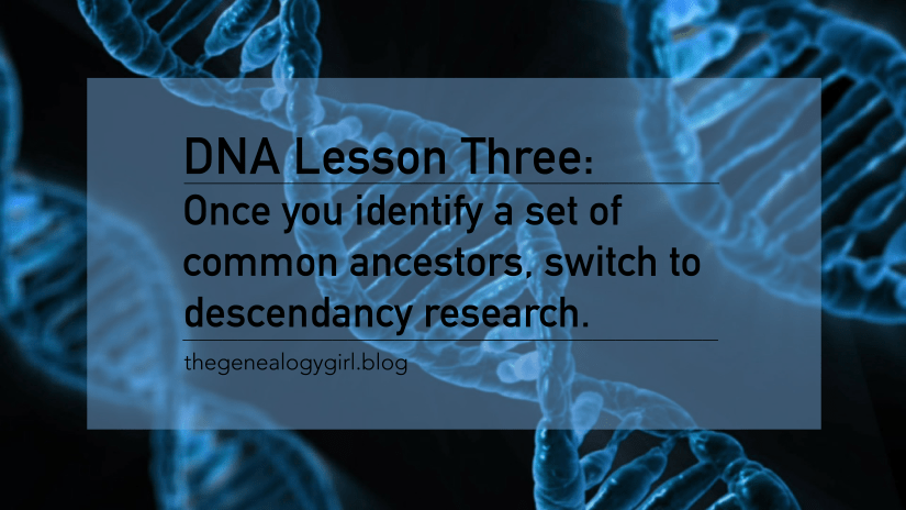 DNA Discovery, lesson three
