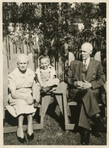 YOUNG, James and Catherine with small child