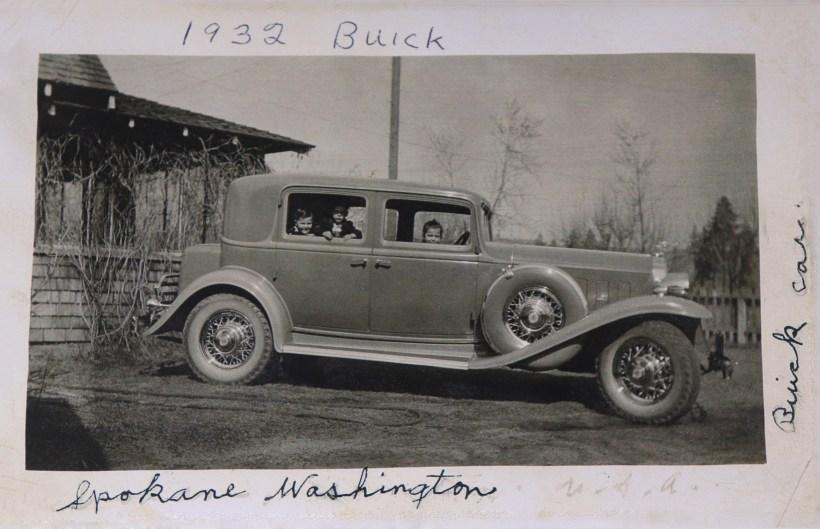 COSTELLO, kids in John's car, 1932