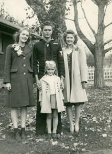 ELLIS, children of Claude & Blanche, WWII