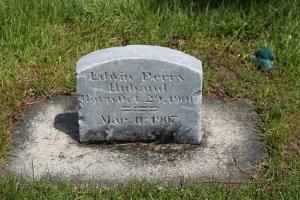 HUBAND, Edwin Perry, headstone