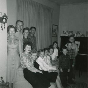 HUBAND, Heber & Hattie grandchildren, December 1959