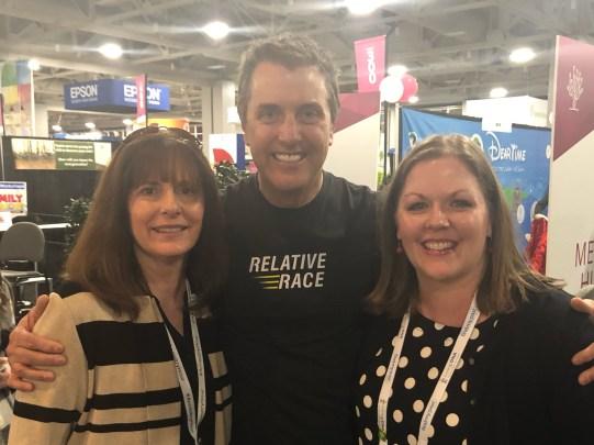 Lynn Broderick, Dan Debenham, & I
