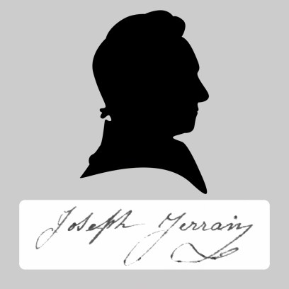 Joseph Jerrain signature silhouette