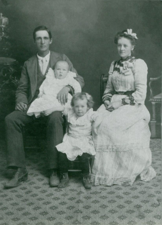 SKEEN, Joseph & Petrina family of four