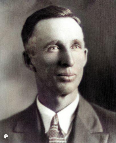 Joseph Skeen portrait, Colorized