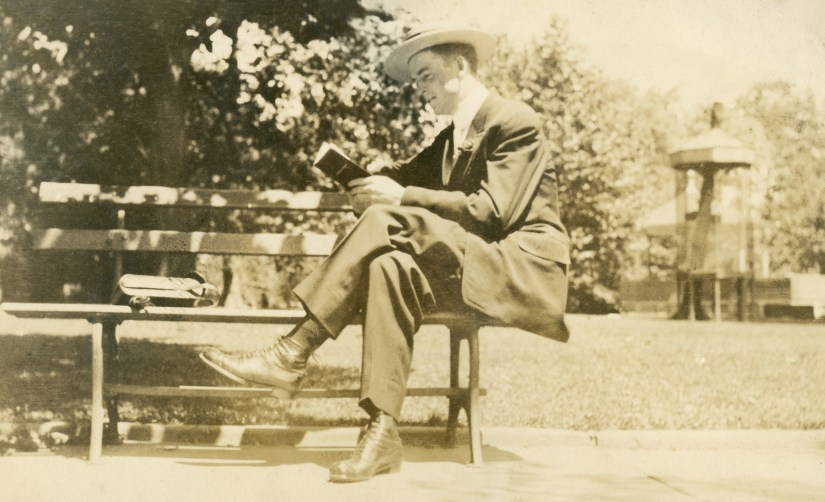 BEA1, img 5, Claude Albert Ellis in Germantown, Pennsylvania, 1913