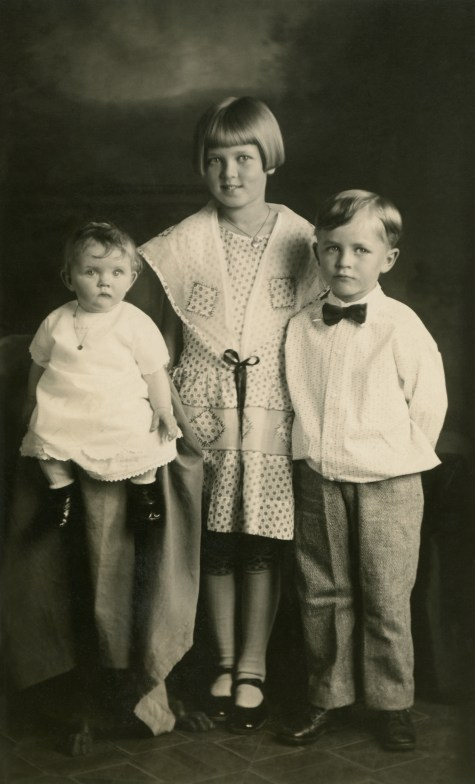 ELLIS, Beth age 9, Dale age 5 1:2, Margaret age 7 months, June 1928