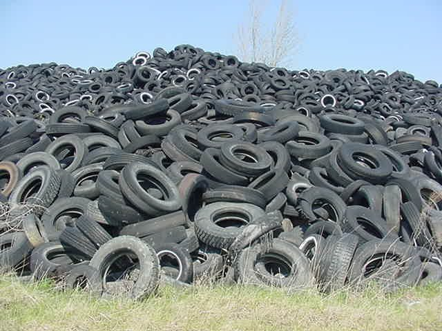53 million tyres are thrown out in Australia every year