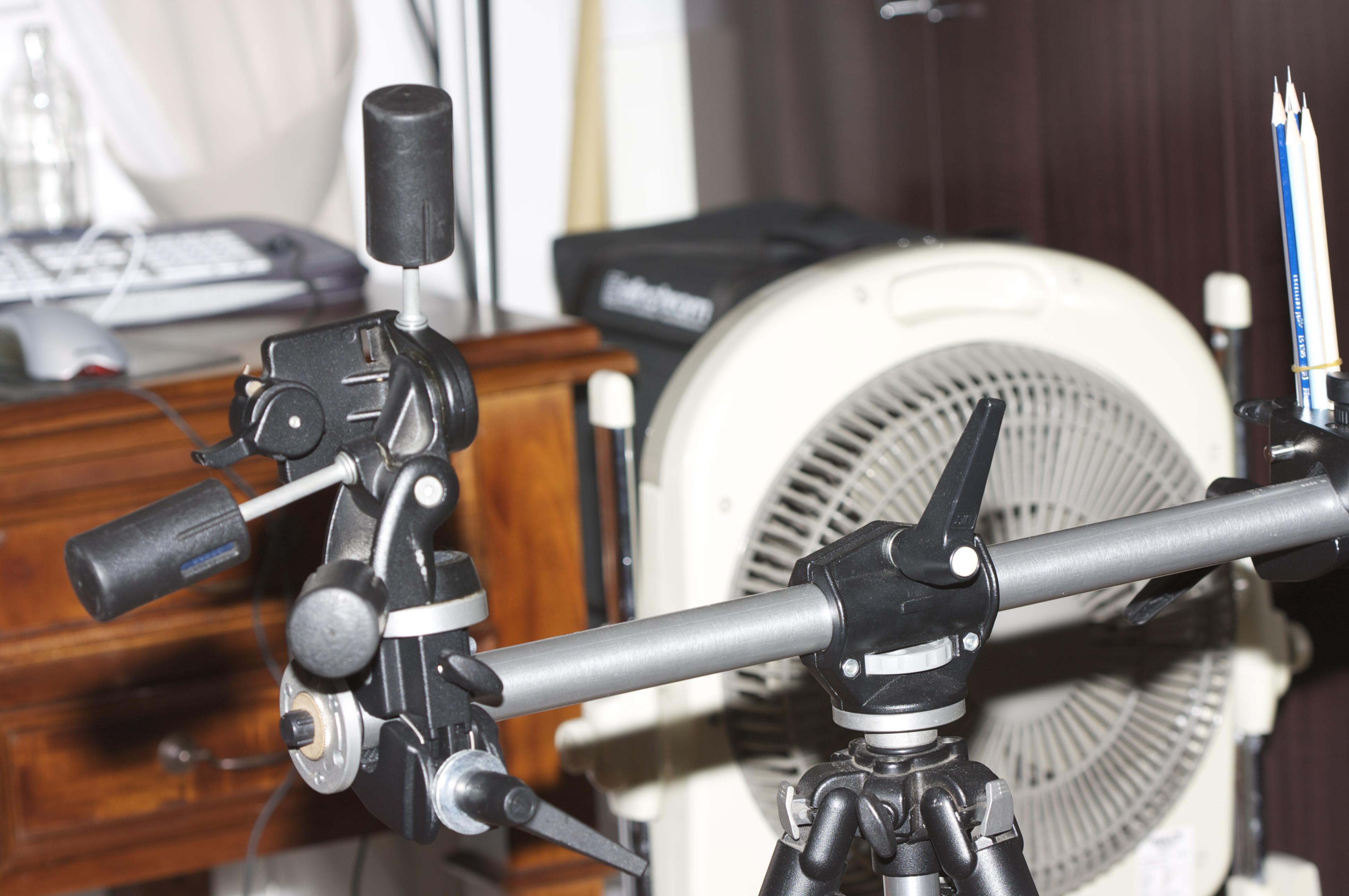 "Simple setup in my ""home studio"""