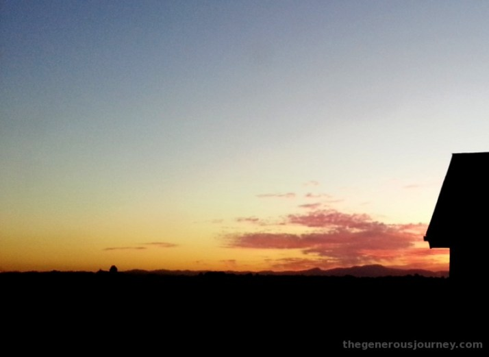 Oregon Sunset © Paul H. Byerly