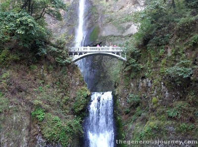 Multnomah Falls © Paul H. Byerly