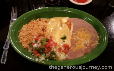 Crawfish enchiladas  © Paul H. Byerly