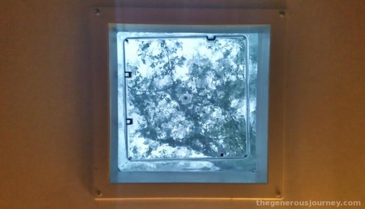 Rain on the skylight © Paul H. Byerly
