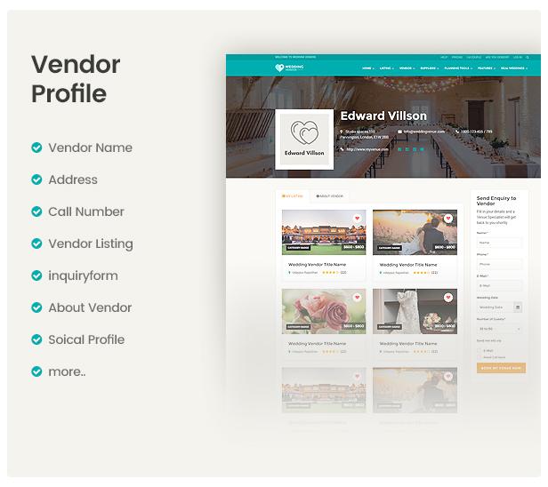 Directory Vendor Profile