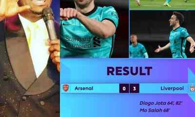 #ARSLIV: Apostle Suleman Fumes As Liverpool Outclass Arsenal At Emirates Stadium