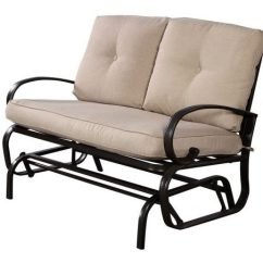 66 Inch Wide Sofa Who Makes The Maxwell For Restoration Hardware Top 10 Best Patio Gliders In 2018 - Genius Review