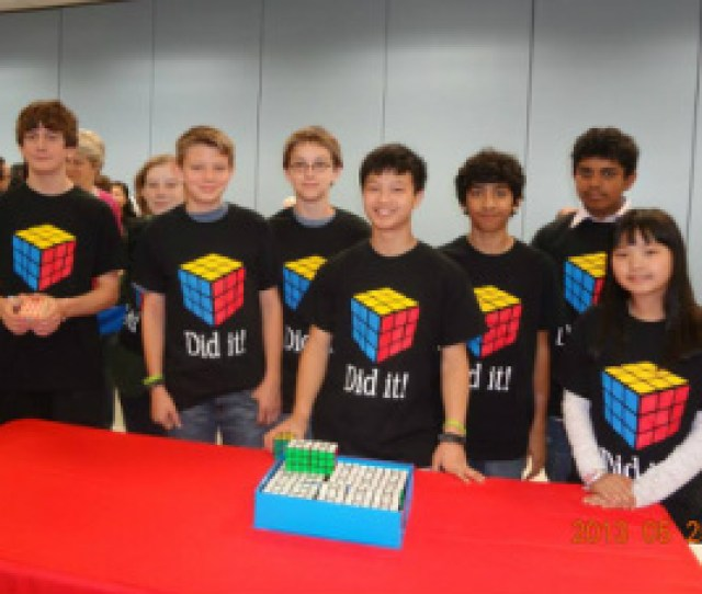 Around The Month Of May 2013 My Friends And I Participated In A Rubiks Cube Competition Ive Been Able To Solve A Cube Since The 6th Grade