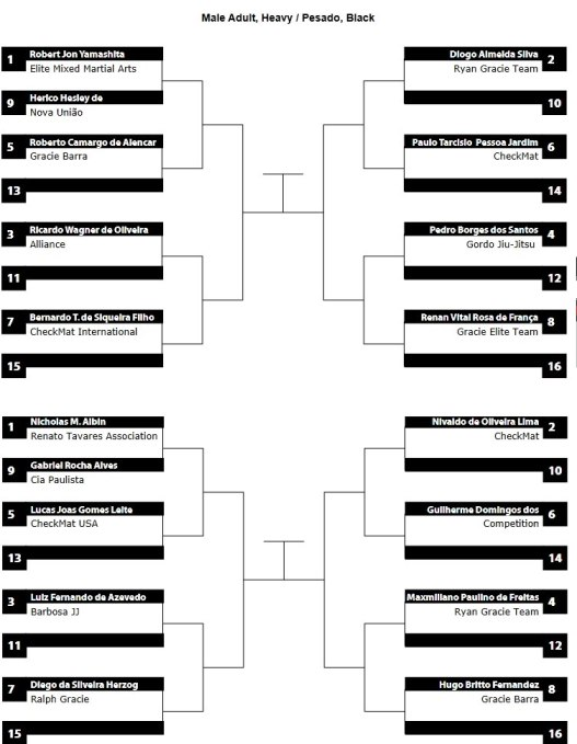 pan ams 2013 heavy bracket