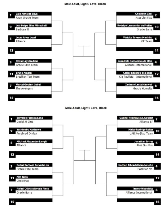 pan ams 2013 lightweight bracket