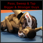 bjj techniques to defeat bigger and stronger opponents